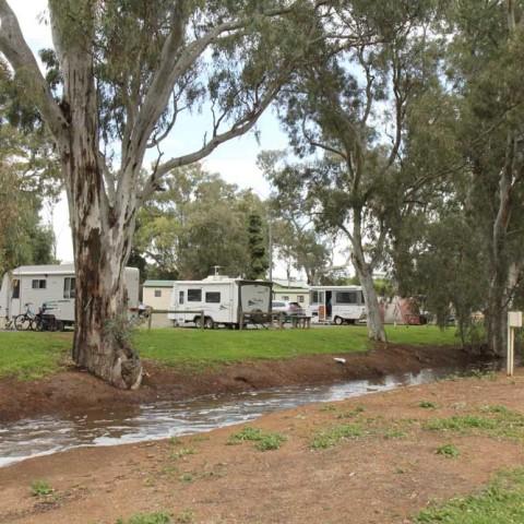 Caravan Park After the Rain 1