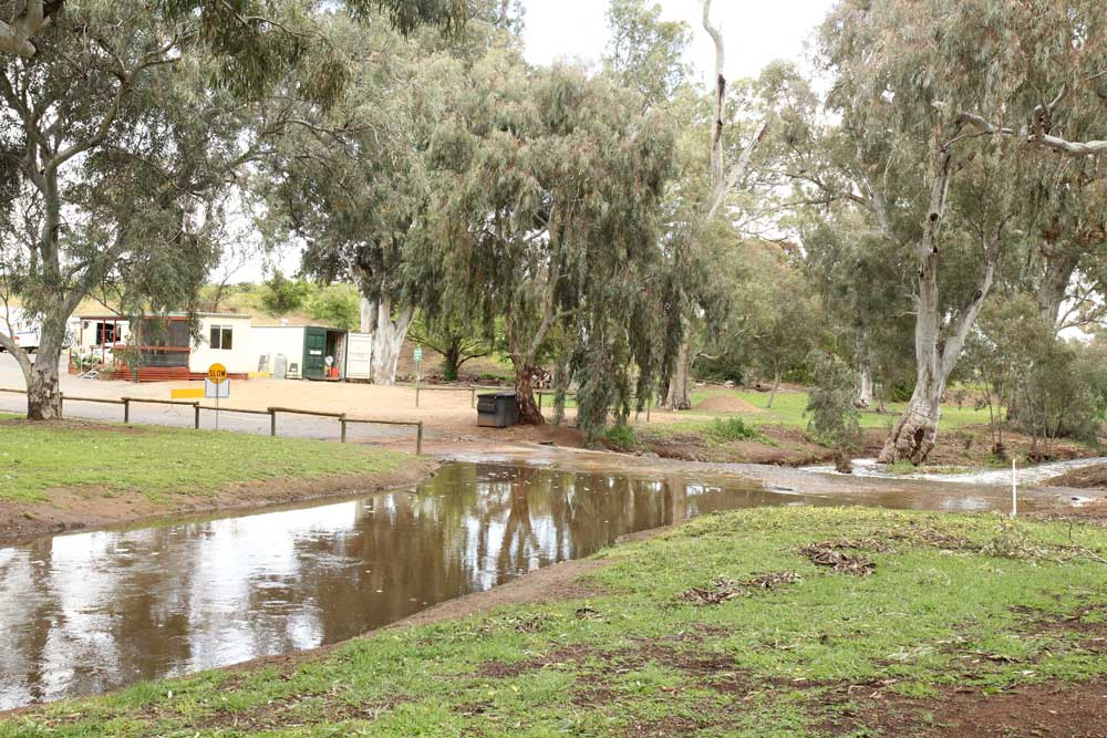 Caravan Park and Crystal Brook