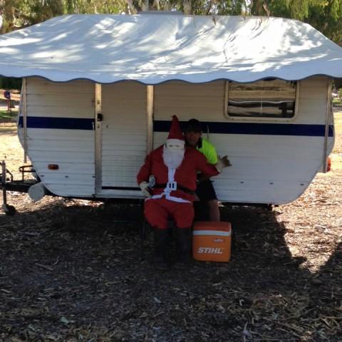 Santa's Caravan